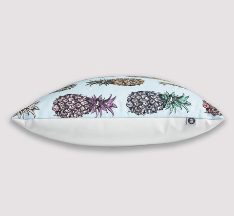 ethrow pillow | pineapple | side view | bedface