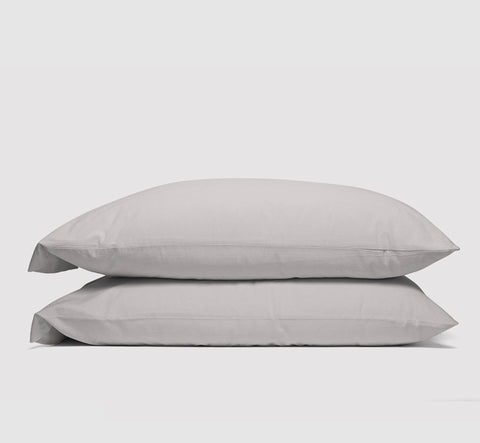 pillowcases | feather grey | bedface