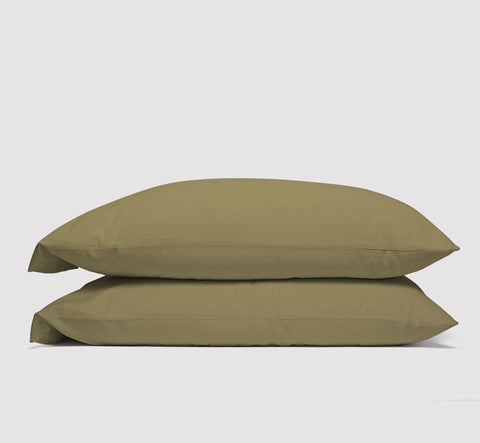 pillowcases | commando olive | bedface