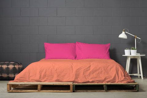 esleep set | peachy keen | pallet bed | bedface