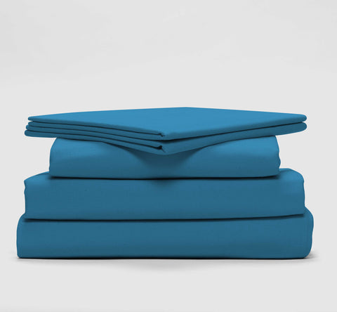 esuper sleep set | coastal blue | bedface