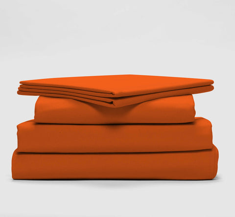 super sleep set | alarm clock orange | bedface