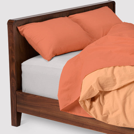 esuper sleep set | peaches and dream | wood bed | bedface