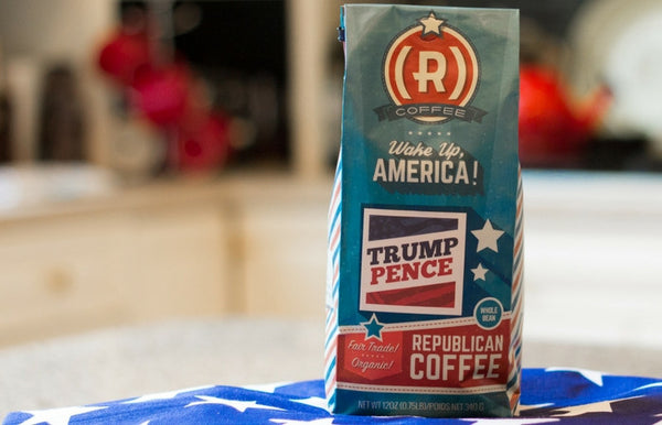 Introducing the Trump Pence Roast from Republican Coffee