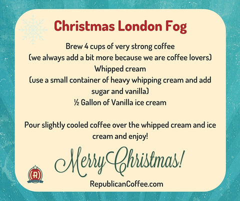 Republican Coffee Christmas Gift London Fog