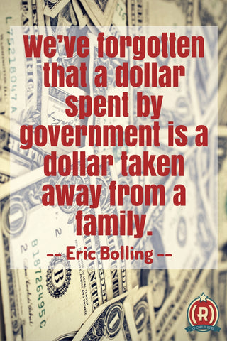 Every dollar spent is a dollar taken from a family: Eric Bolling, Wake Up America