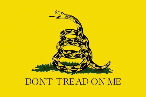Republican Coffee Don't Tread on Me