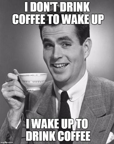 Wake up to Drink (Republican) Coffee