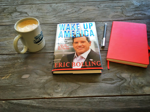 A conservative education: Wake Up America by Eric Bolling review