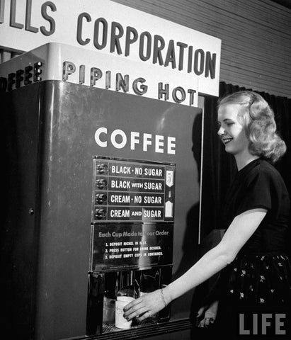 Coffee Vending machines - the ultimate in automation?