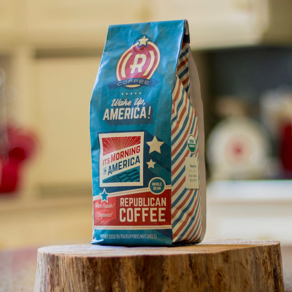 The Patriot (Coffee + Mug) - Whole Bean / Morning in America - Bundle - Republican Coffee - 7