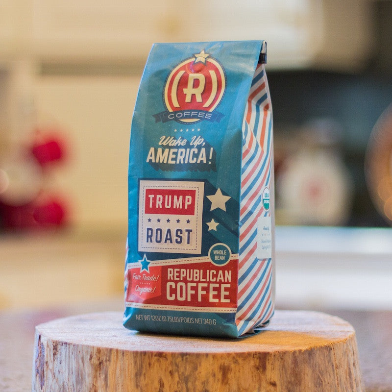 Image result for trump coffee
