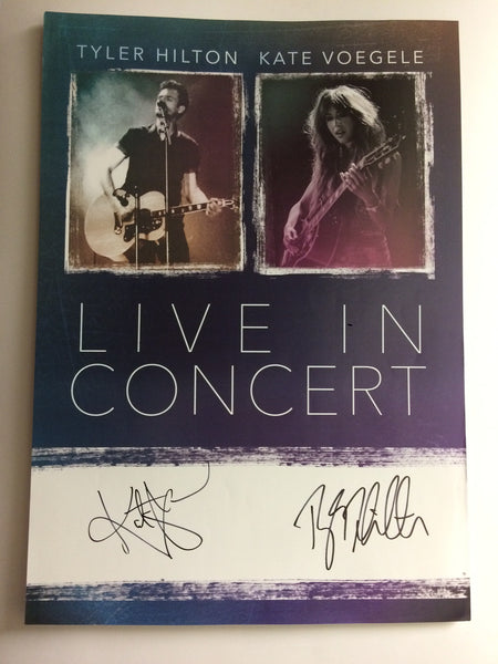 Signed Tour Poster - Tyler Hilton and Kate Voegele Tour