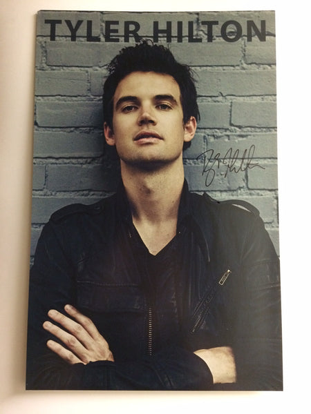 "Signed Tour Poster - Tyler Hilton ""Grey Brick"""