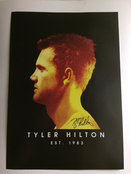 Indian Summer -  Tyler Hilton Album Promo Poster - Signed