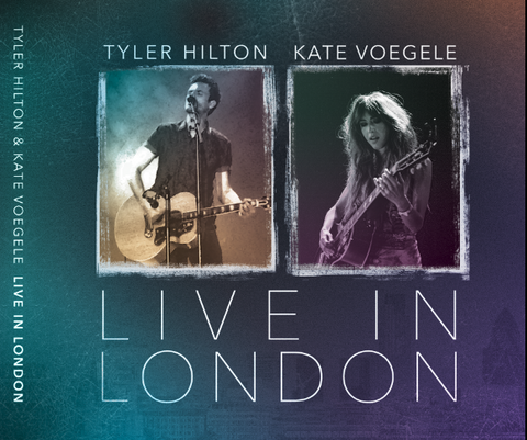Tyler Hilton & Kate Voegele - Live in London, Double Disc - Signed by Both! Only 1,000