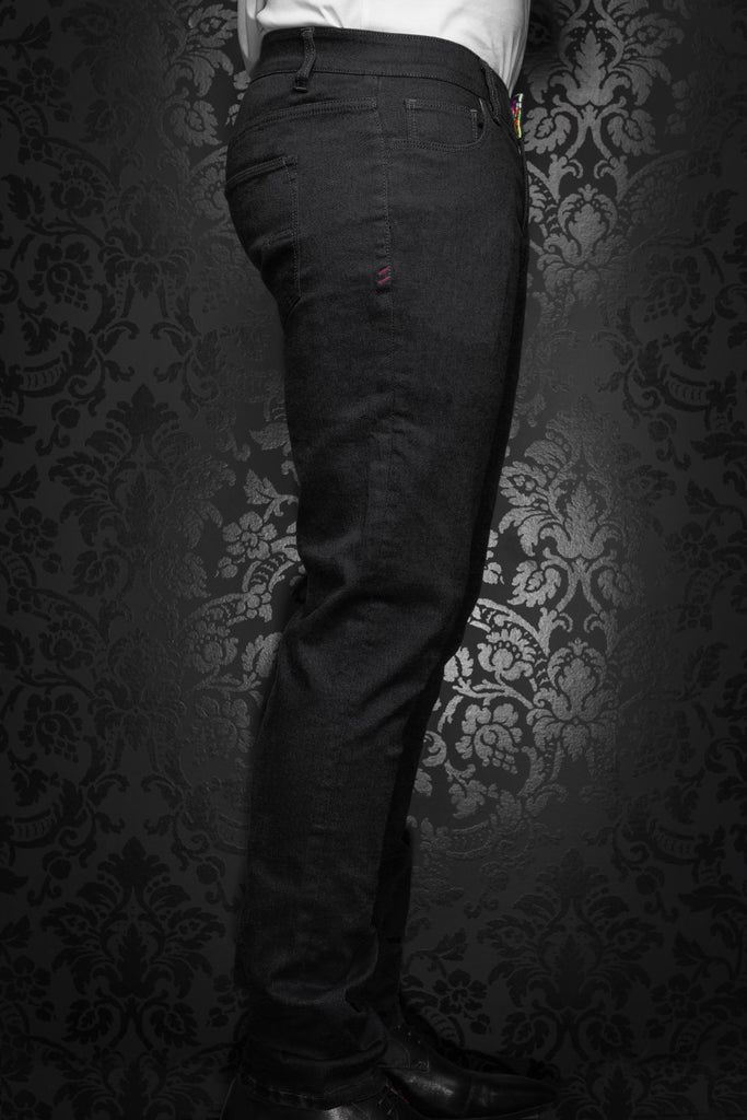 Pantalon Au Noir - JOHNNY-C black
