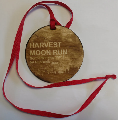 Wood Medallion