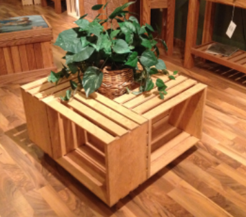 Wooden Crate Coffee Table