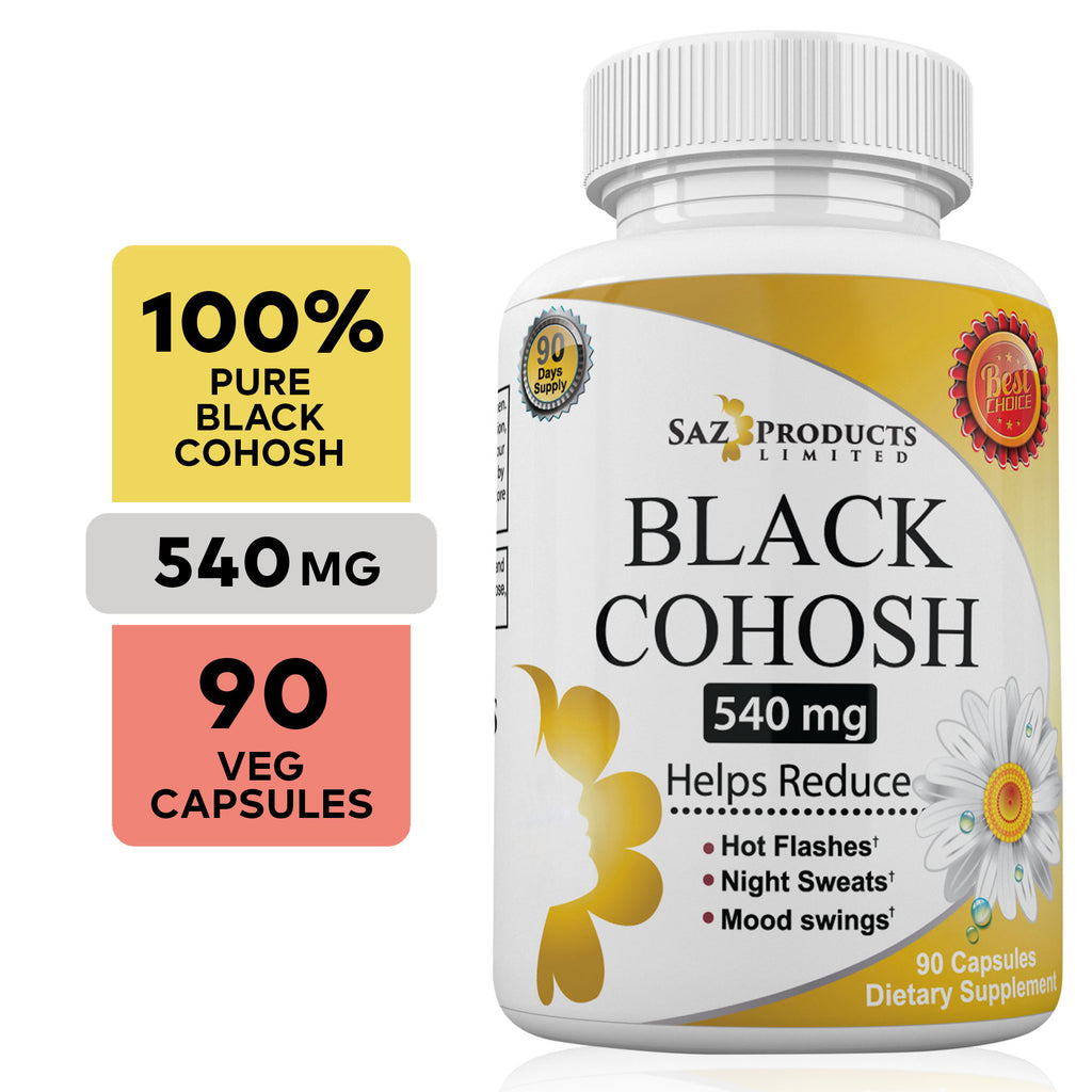 Black Cohosh Menopause Supplement - 90 Capsules