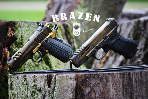 Titanium Nitride Gun Coatings (TiN) – Brazen