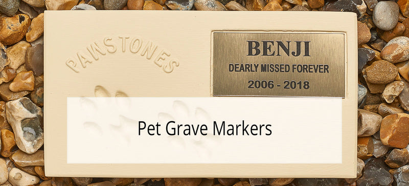 Pet Memorial Boxes & Grave Markers