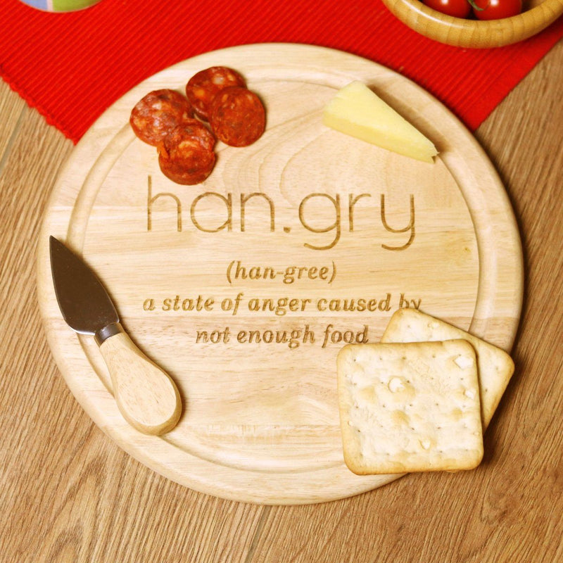 Cheese Board - Hangry Chopping Or Cheese Board