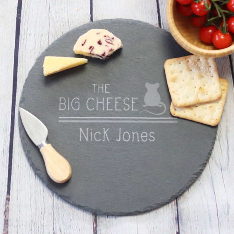 Cheese Board - Personalised Cheese Board - Big Cheese
