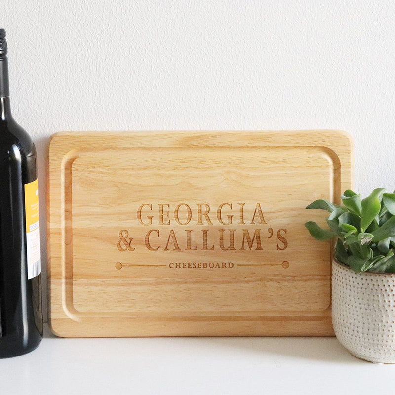 Cheese Board - Personalised Cheese Board - Name