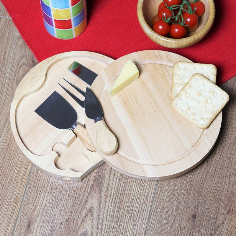 Cheese Board - Personalised Cheese Or Chopping Board - Stick Family