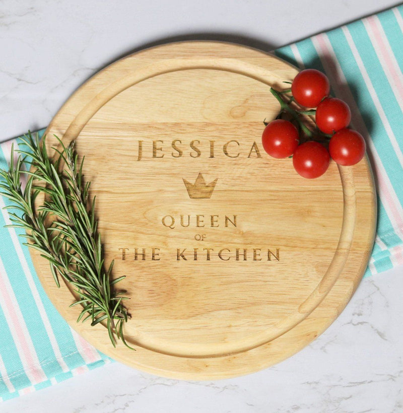 Cheese Board - Personalised Chopping Board - Title