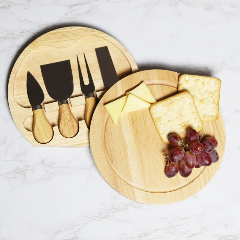Cheese Board - Personalised Chopping Or Cheese Board - Address