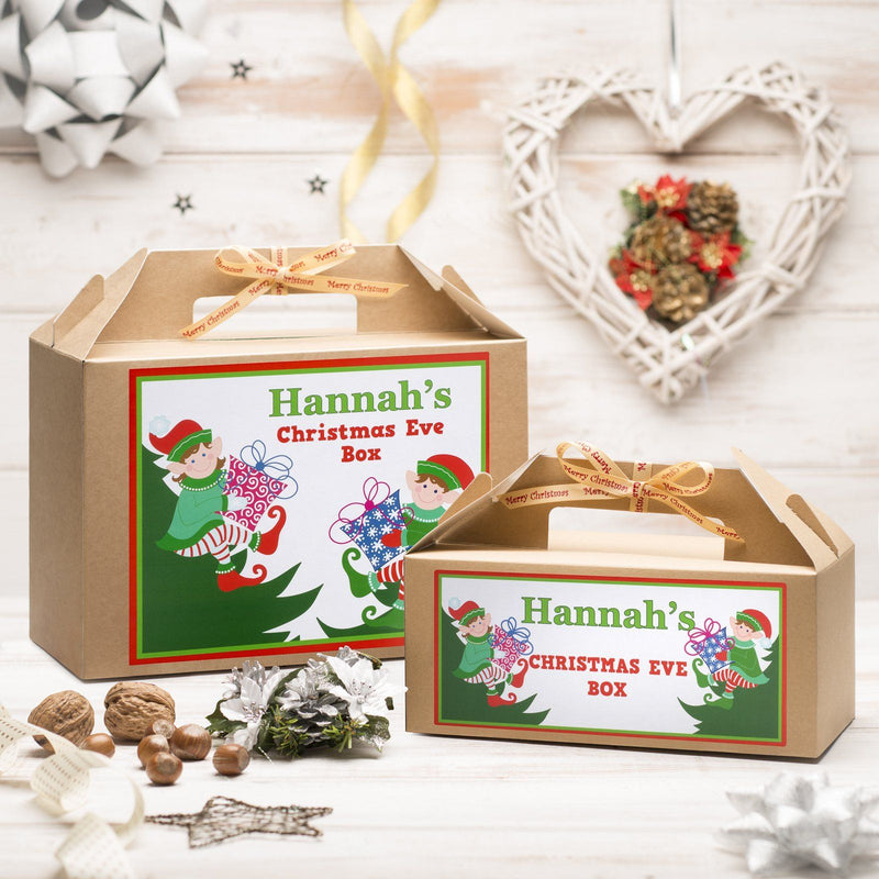 Christmas Box - Personalised Christmas Eve Box - Elf Design