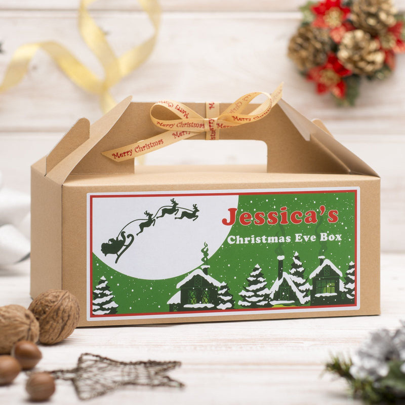 Christmas Box - Personalised Christmas Eve Box - Santa Design