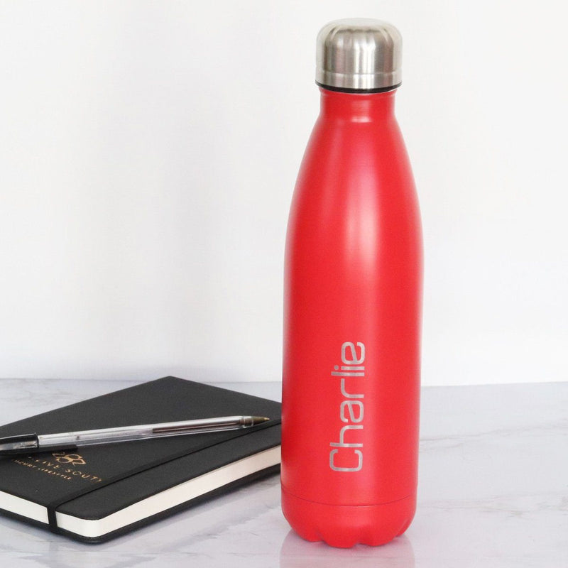 FOSH Bottle - Personalised Insulated Drinks Bottle - Name