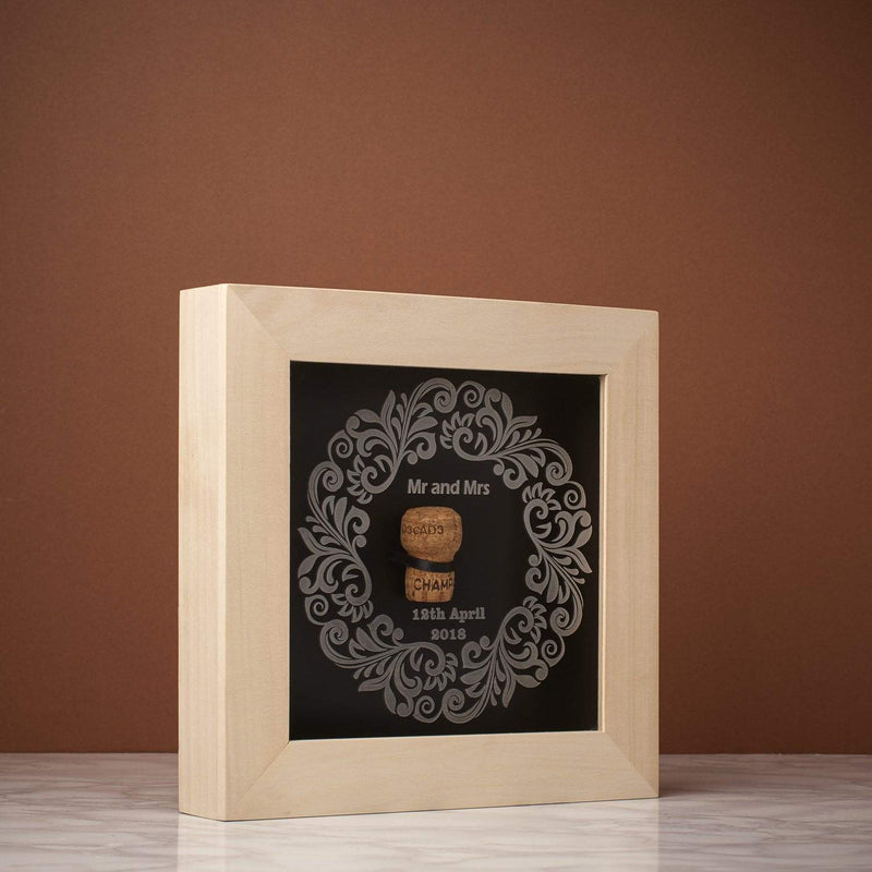 Memory Box Frame - First Cork Memory Box Frame