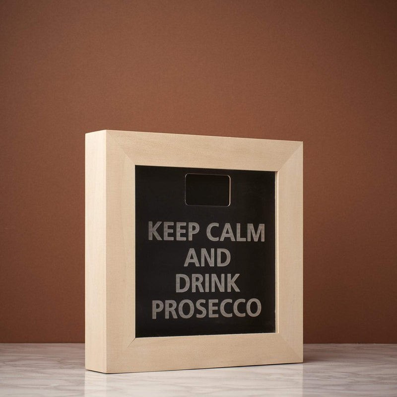 Memory Box Frame - Keep Calm & Drink ....Memory Box Frame