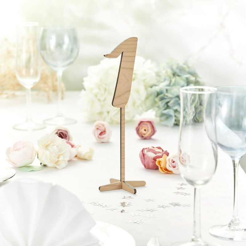 Table Numbers And Names - Rustic Wooden Wedding Table Numbers