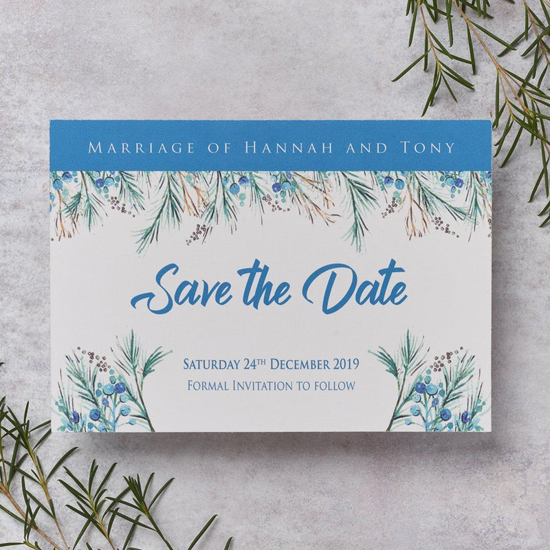 Wedding Invitation - Berries Wedding Save The Date