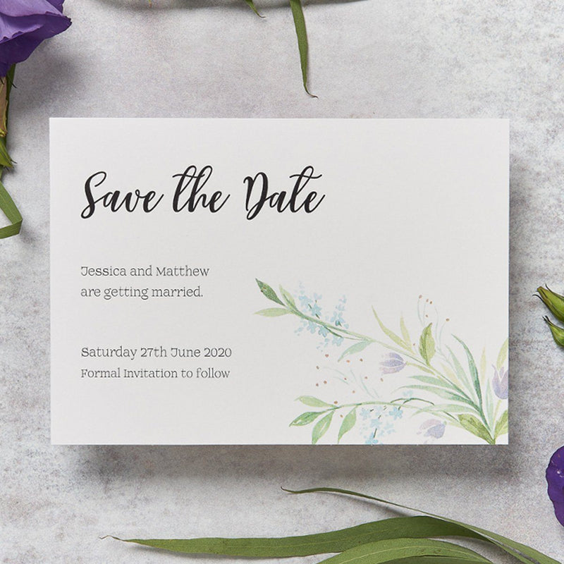 Wedding Invitation - Tulip Wedding Save The Date