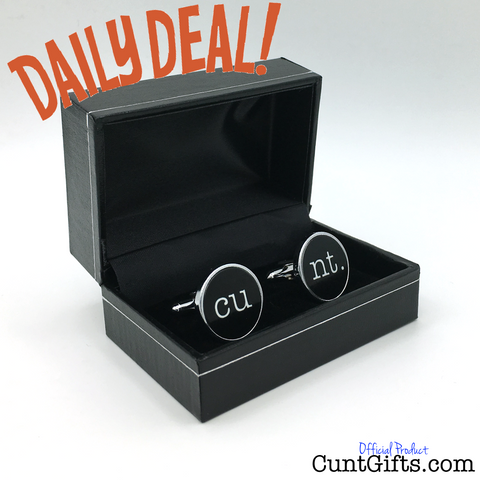 Cuntlinks Cufflinks DAILY DEAL