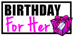 Birthday Cunt Gifts for Her Button