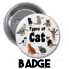 Cats are Cunts - Badge