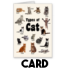 Cats are Cunts - Card