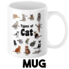 Cats are Cunts - Mug