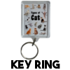 Cats are Cunts - Keyring