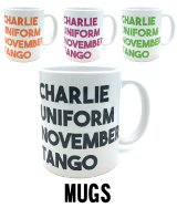 Charlie Uniform Mug