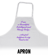 Classy Lady Who Says Cunt - Apron