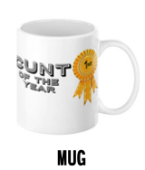 Cunt of the Year - Mug