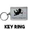Cupid is a lying cunt - Key ring